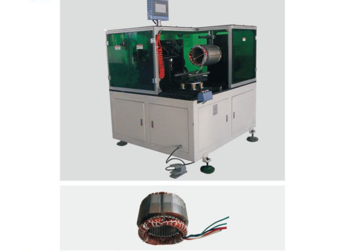 Automatic Horizontal Servo Single Side Lacing Machine For Stator SMT - DW350