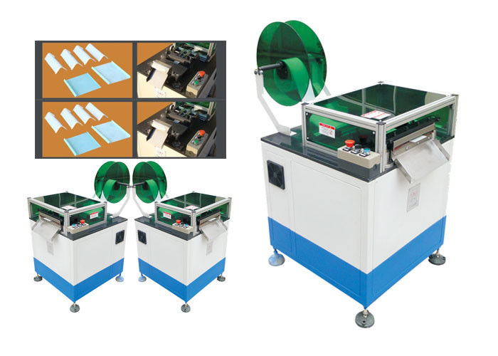 Paper Polyester Motor Coil Winding Machine  / DC Motor Forming and Cutting Machine