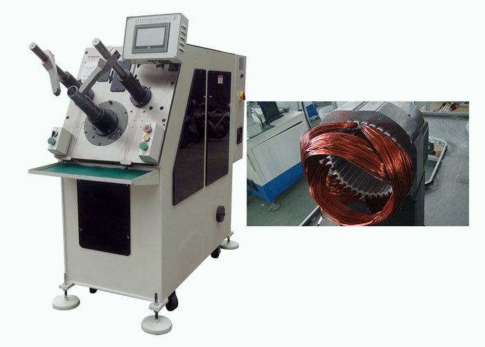 Aluminum Wire Coil and Wedge Inserting Machine for Induction Motor Stator SMT - K90