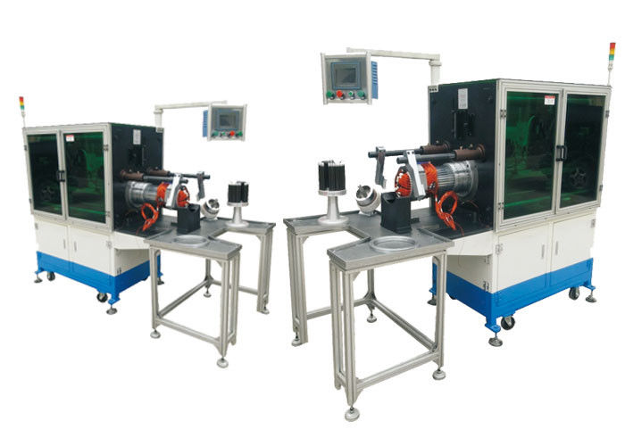 Horizontal Coil Wire Embedding Induction Motor Winding Machine