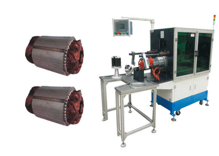OEM / ODM Stator Winding Inserting Machine Electric Motor Coil Winding And Inject Machine