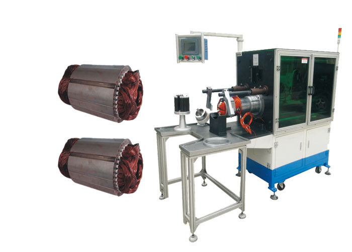 Stator Coil Inserting Machine Touchscreen PLC Controlled ≤70mm Tooling Travel