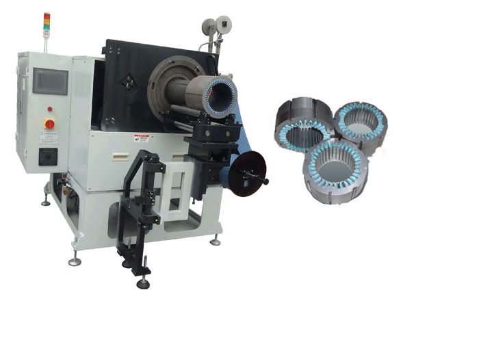 Electric Motor Stator Different Slots Insulation Paper Inserting Machine SMT-CW300